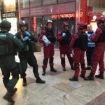 West Quay Shopping Centre Used As Terror Attack Back Drop