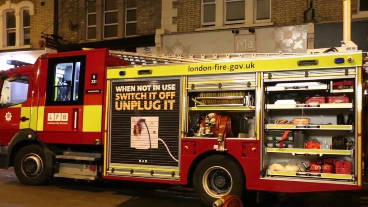 Fire Crews Called To Basement Flat Fire In Putney