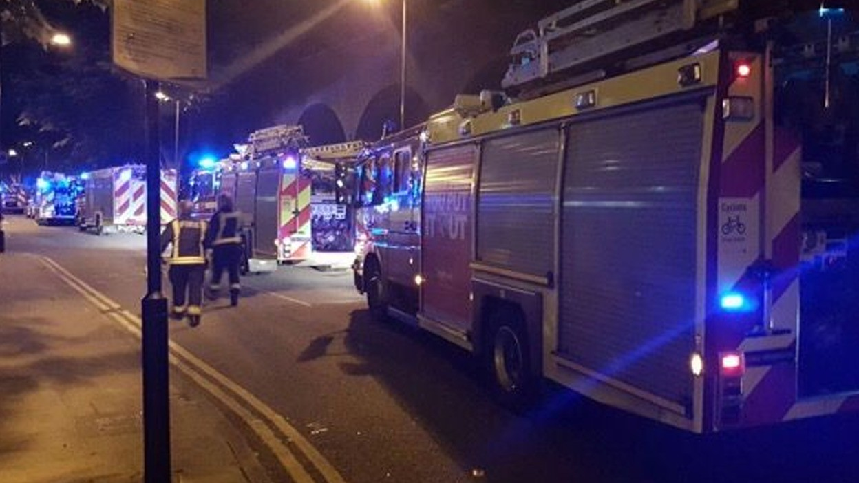 Hundreds Evacuated After Islington Rise Tower Block Fire