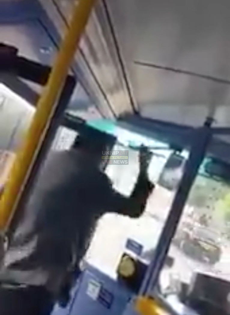 Man Goes On A Rampage On London Bus