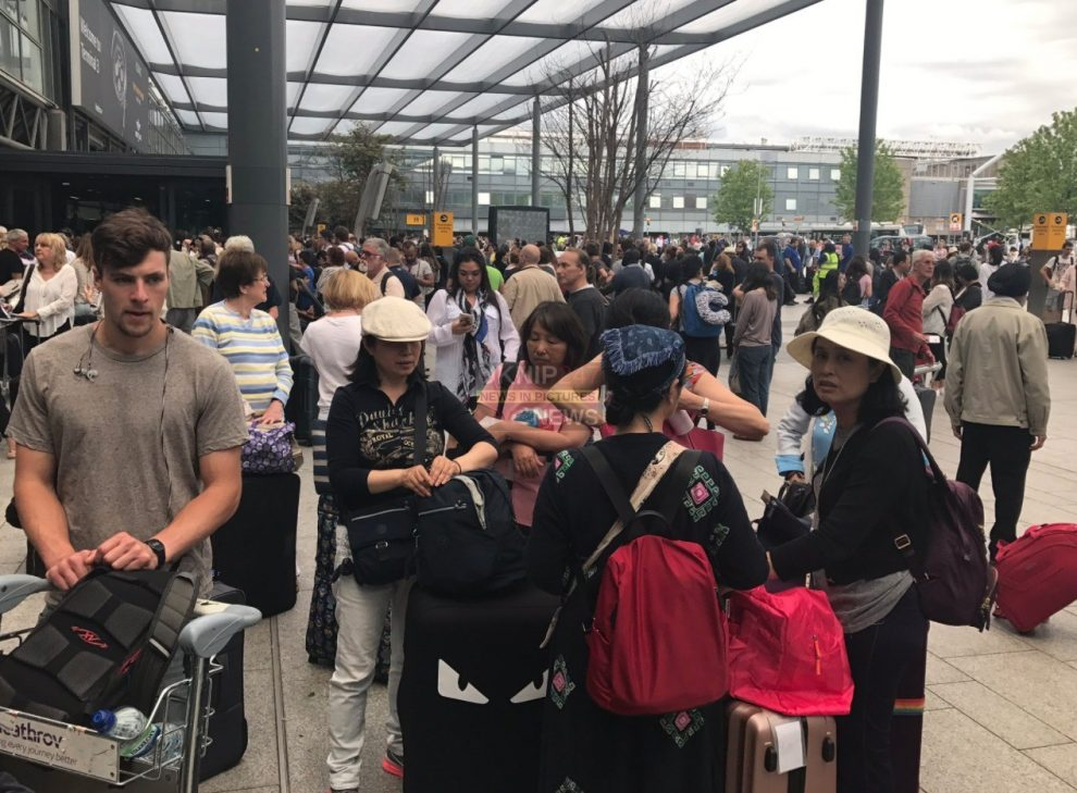 Breaking: Terminal Three At Heathrow Airport Has Been Evacuated Following A Fire Alarm