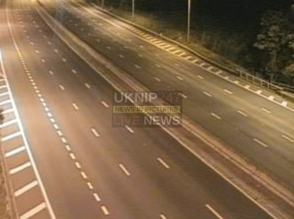 M25 Closed  In Both Directions Near The A12  After Security Alert