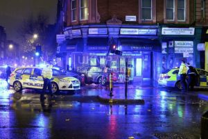 Central London Police Chase Ends In Two Vehicle Collision