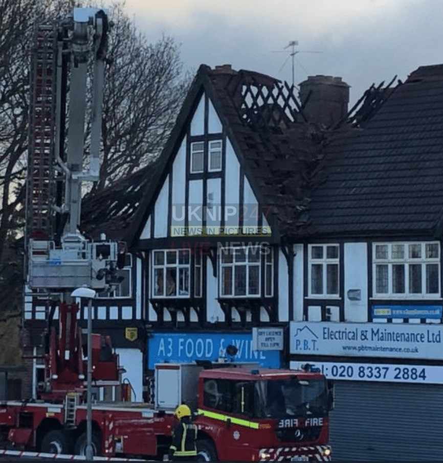 Two Dead After Fire Rips Through Flat Above A Shop In South-west London