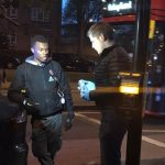 Police Recover Knife Following A Vehicle Stop In Clapton Common East London