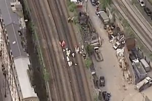 Three Taggers Killed After Being Struck By  Train A Loughborough Junction