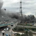 Invesigation Launched After Fire Rips Through  Glass Manufacturing Warehouse