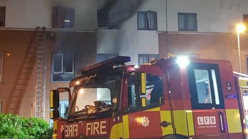 Arson Probe Launched After Woman Dies In Flat Fire