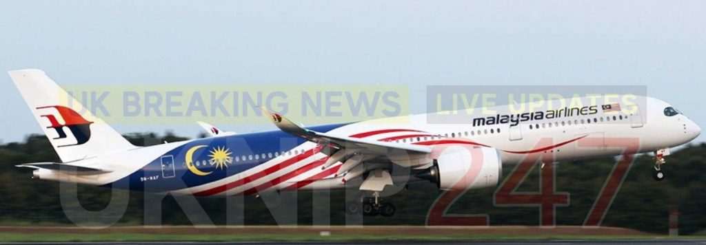 Malaysian Airlines Flight From Heathrow Has Declared An Emergency And Is Returning To Heathrow