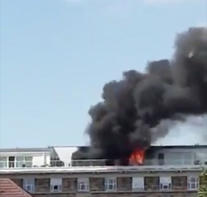 Fire Crews Called To Tackle Blaze In Acton