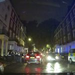Large Number Of Police Detain Minicab Driver On Sussex Place In West London