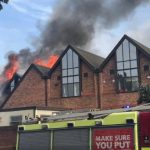 Major Incident Declared After Blaze Rips Through Shopping Centre In Walthamstow