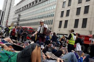 Police Imposed A Condition Upon Extinction Rebellion Processions In London