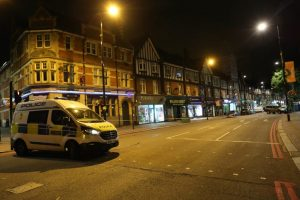 Triple Stabbing  In Purley With Teenager Stabbed To Death