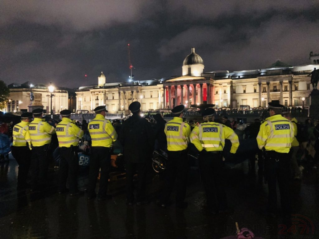 Any Assembly Linked To The Extinction Rebellion 'autumn Uprising'…must Now Cease Their Protest(s) Within London