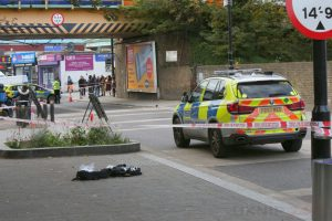 Police Officer Mowed Down After Vehicle Makes Off In Tottenham
