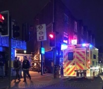 Person Falls From A Train At Seven Sisters Station