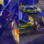 Manhunt  Launched After Two Teens Are Shot And Stabbed In Walthamstow