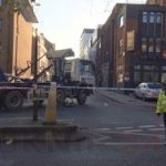 Woman Rushed To Hospital Following Lorry Collision In  Islington