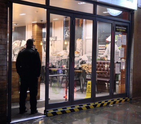 A Man Has Been Shot Inside Roosters Peri Peri Chicken Shop In  North London