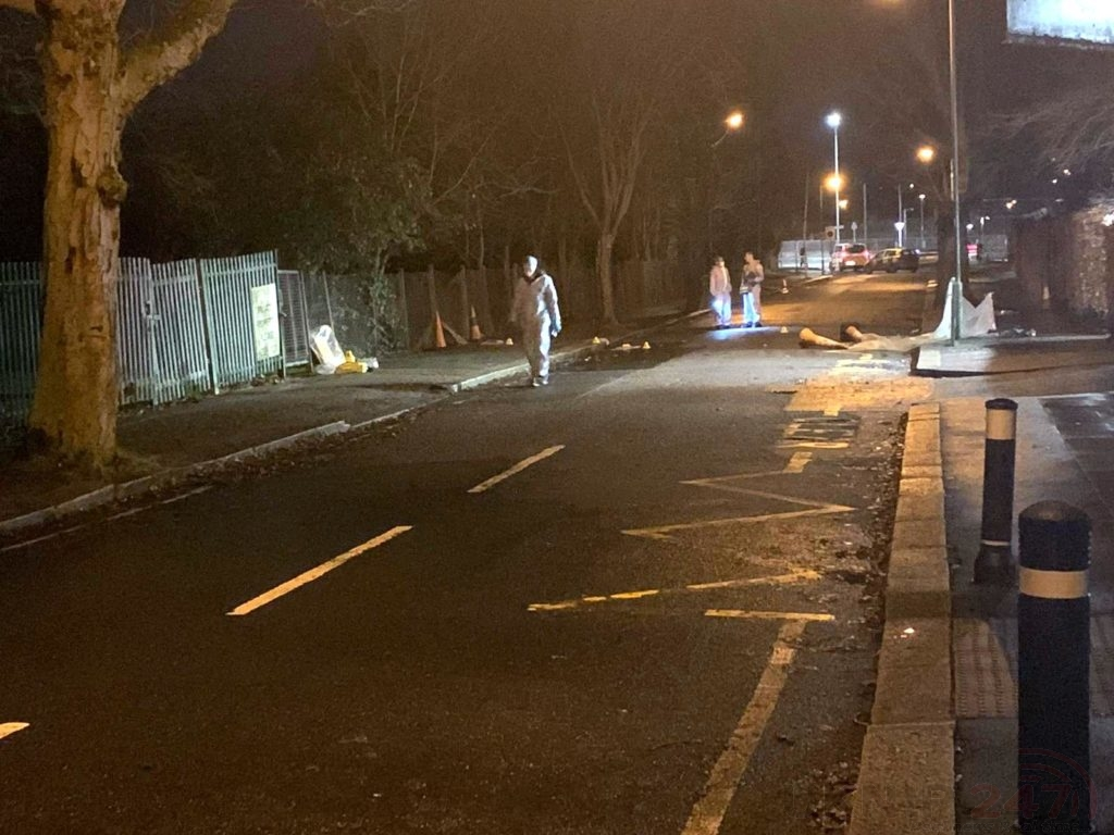 Barnet Bypass Sealed Off After Murder Investigation Is Launched