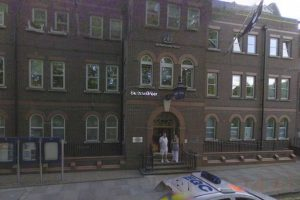 Fire Crews Called To  Rubbish Job At  Bethnal Green Police Station
