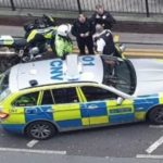 Police Use Tactical Contact To Stop Stolen Motorcycle In Wood Green