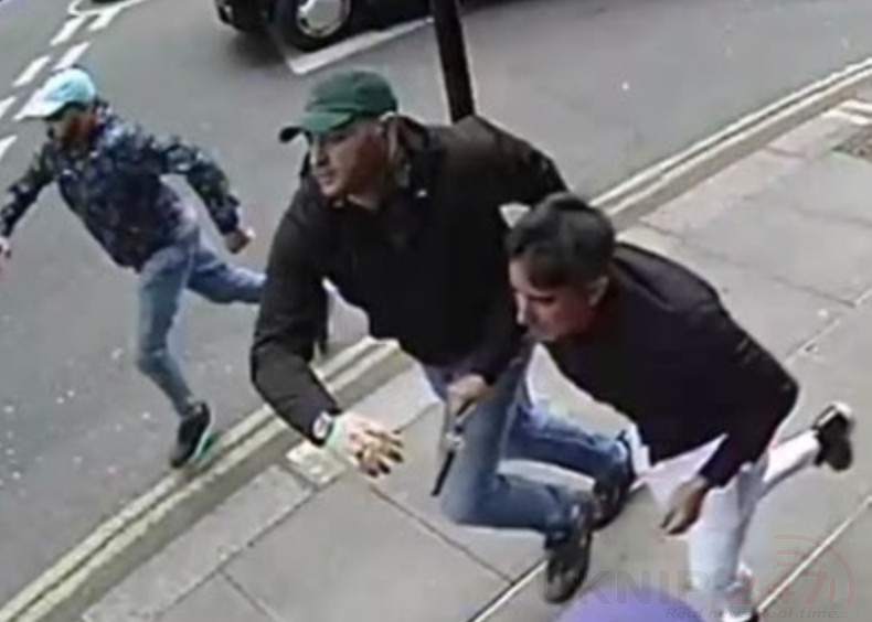 Detectives Have Released Images Of Three Men After A Vicious Robbery Where A Man Was Stabbed