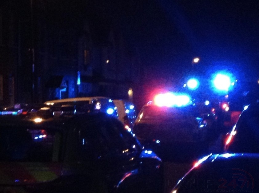 Road Closed After Emergency Services Rushed To Property In Tottenham North London