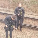 A Man Has Been Detained After He Boarded A Train While In Possession Of A Knife
