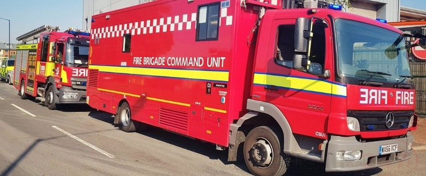 Fire Crews Called To Chemical  Incident  Inside  North London Dry Cleaners