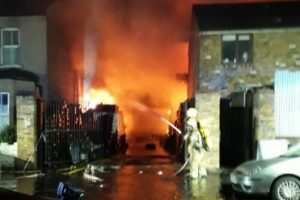 """Out Of Control Croydon Fire Now Being Declared As """"major Incident"""""""