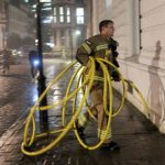 150 Firefighters Have Been Called To  Battle A Fire At The Law Law Society On  Chancery Lane In Holborn.