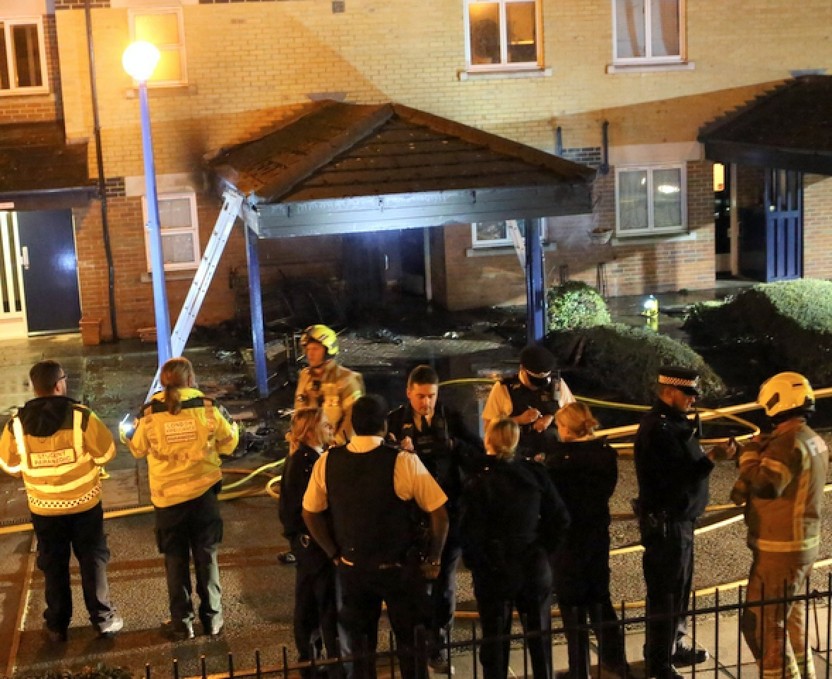 Dumped Furniture Sparks Arson Probe In Tooting