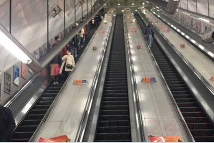 Fire Crews Called To Smoke Issuing  From The Platform At Holborn Underground Station