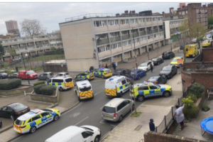 six arrested after two murdered in lambeth