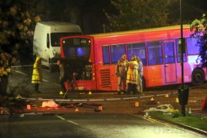 one dead after three vehicles horror collision involving two buses in orpington 990x557