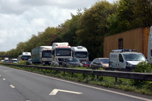m2 motorway closed after serious collision near faversham leaving five mile jam 3