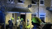 Family pulled from a blazing property in Tottenham