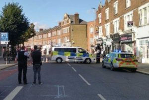 Officers attended and found a man suffering from a stab injury in Earlsfield